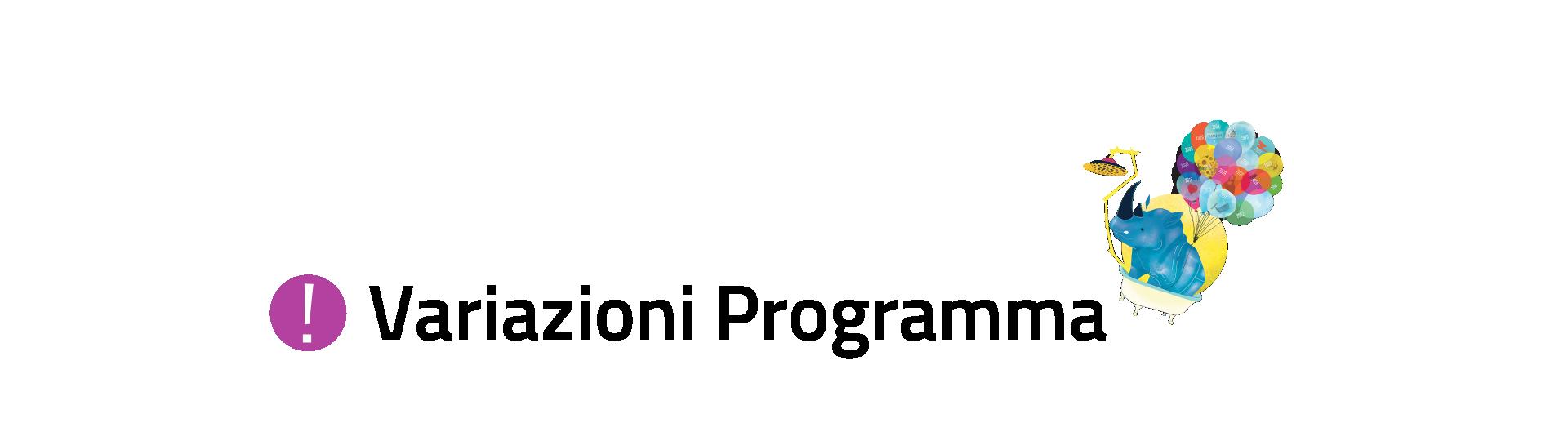 Variazioni Programma AIP 2016