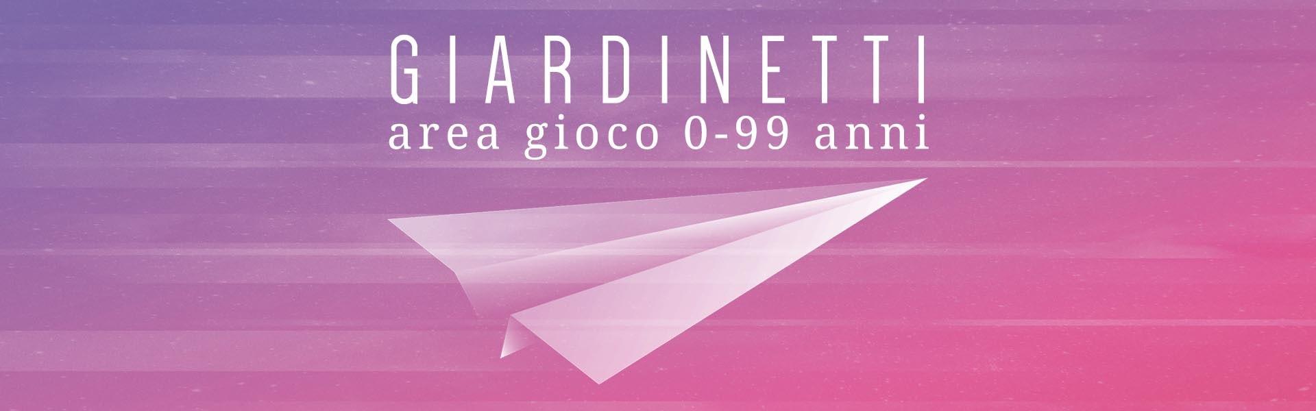 Giardinetti / area gioco 0-99 anni / Artisti in Piazza / Pennabilli Festival 2018