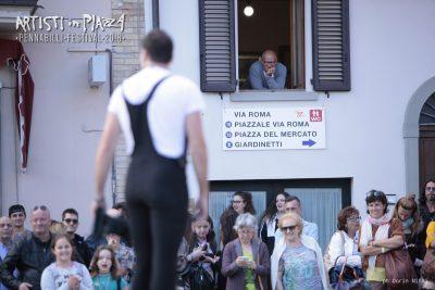 giovedì 14 giugno 2018 / Artisti in Piazza / Pennabilli Festival / ph Dorin Mihai