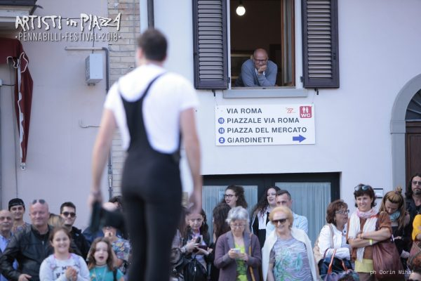 giovedì 4 giugno 2018 / Artisti in Piazza / Pennabilli Festival / ph Dorin Mihai