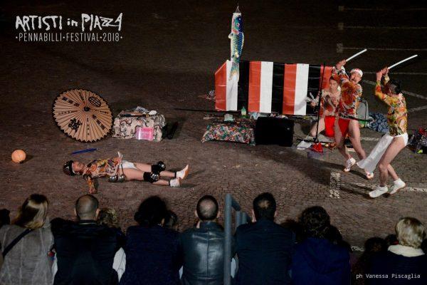giovedì 4 giugno 2018 / Artisti in Piazza / Pennabilli Festival / ph Vanessa Piscaglia