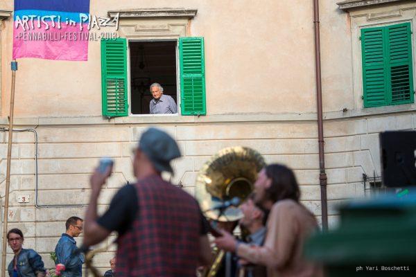 giovedì 4 giugno 2018 / Artisti in Piazza / Pennabilli Festival / ph Yari Boschetti