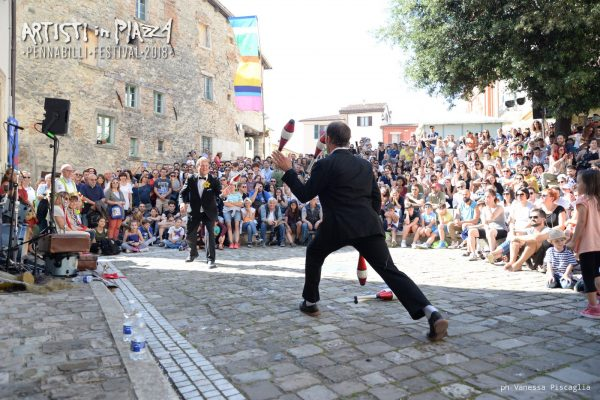 Saturday 16 June 2018 / Artisti in Piazza / Pennabilli Festival / ph Vanessa Piscaglia