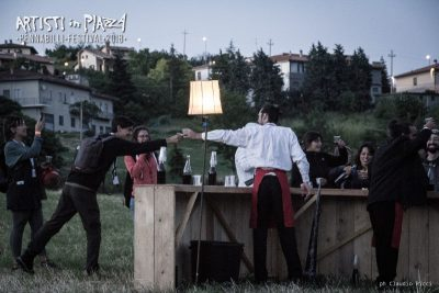venerdì 15 giugno 2018 / Artisti in Piazza / Pennabilli Festival / ph Claudio Ricci