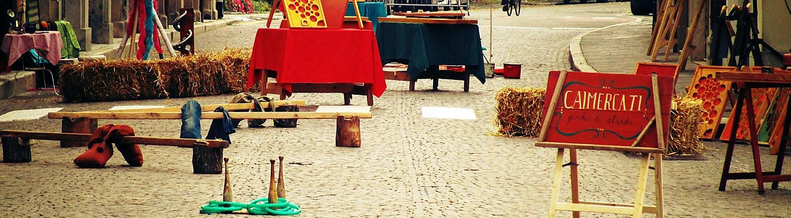 CaiMercati / Giardinetti / area gioco 0-99 anni / Artisti in Piazza / Pennabilli festival