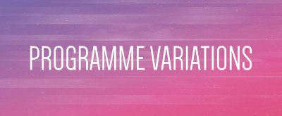 programme variations aip 2018