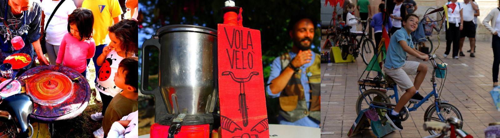 VolaVelò / Giardinetti / area gioco 0-99 anni / Artisti in Piazza / Pennabilli festival