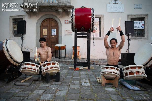 giovedì 13 giugno 2019 / Artisti in Piazza / Pennabilli Festival / ph Stefano Scheda