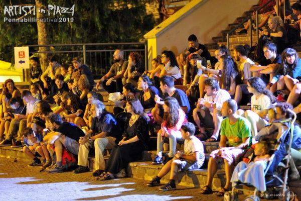 giovedì 13 giugno 2019 / Artisti in Piazza / Pennabilli Festival / ph Alessandro Rollo